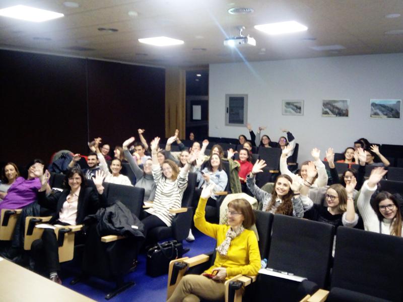 Asistentes a la formación 'La salud también es cuestión de género' realizada en Albacete
