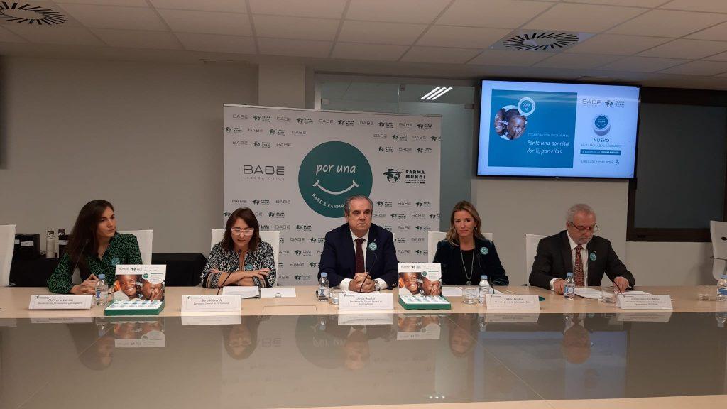 Farmamundi ha presentado hoy la campaña 'Por una sonrisa' junto con Laboratorios Babé