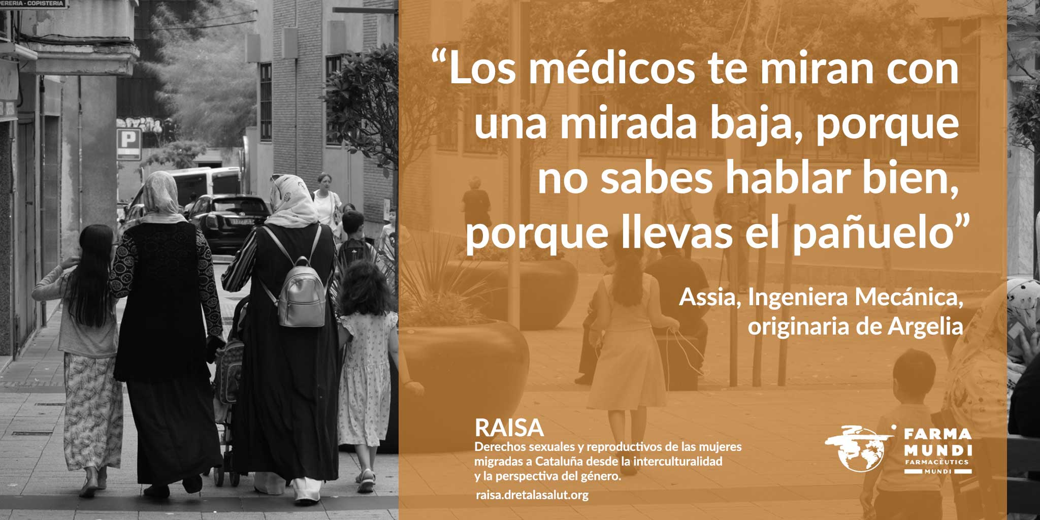 Farmamundi presenta la campaña Raisa dedicada a los derechos relacionados con la salud de las mujeres migradas