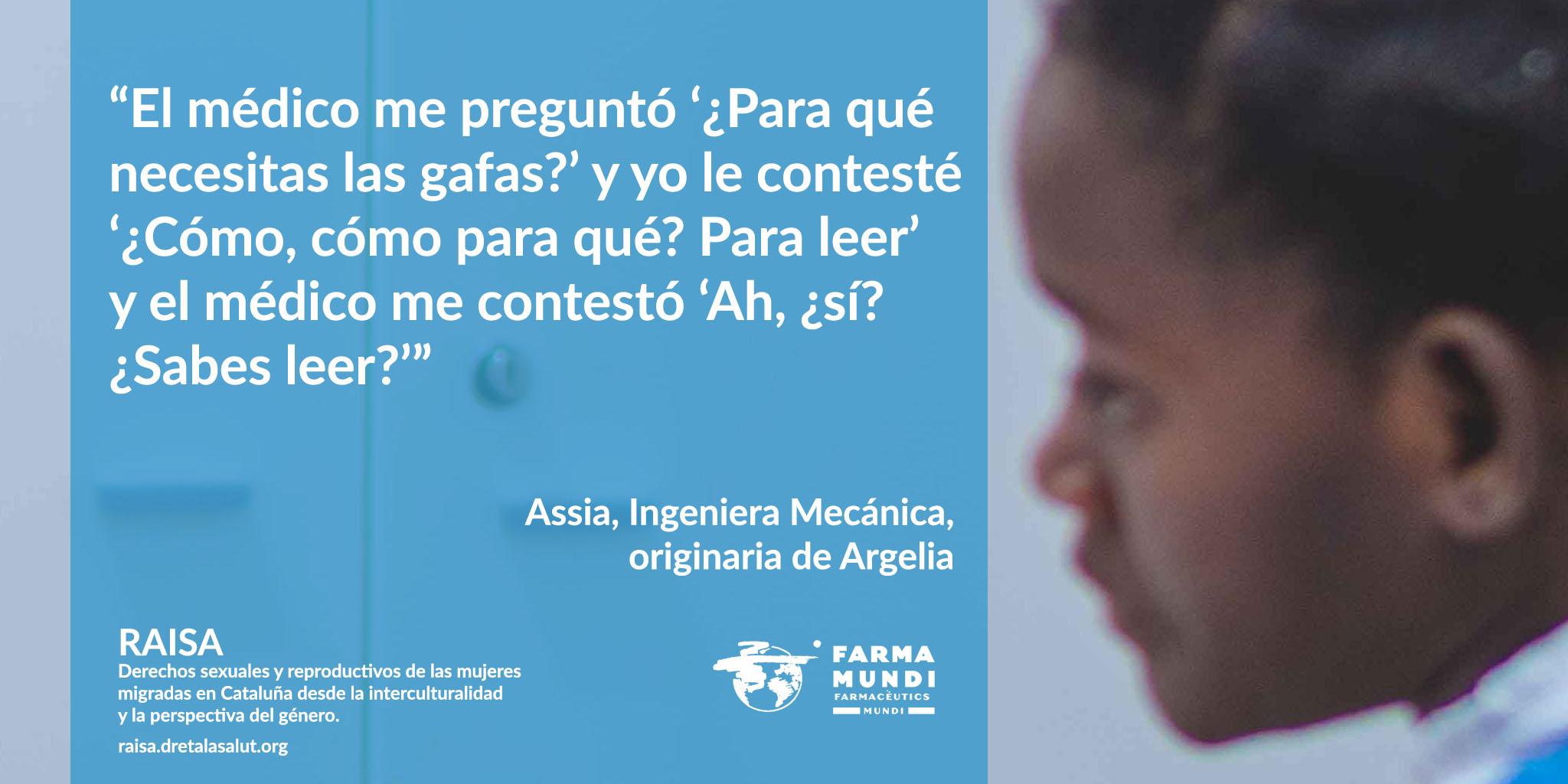 Farmamundi lanza Raisa, una campaña para sensibilizar sobre los derechos reproductivos de las mujeres migradas