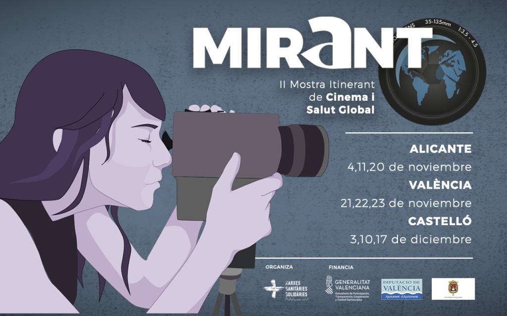 Farmamundi participa en Mirant, la segunda edición de esta Mostra itinerant de cinema y salut global en la Comunitat Valenciana