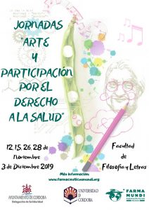 Farmamundi organiza las Jornadas 'Arte y participación por el derecho a la salud' en Córdoba