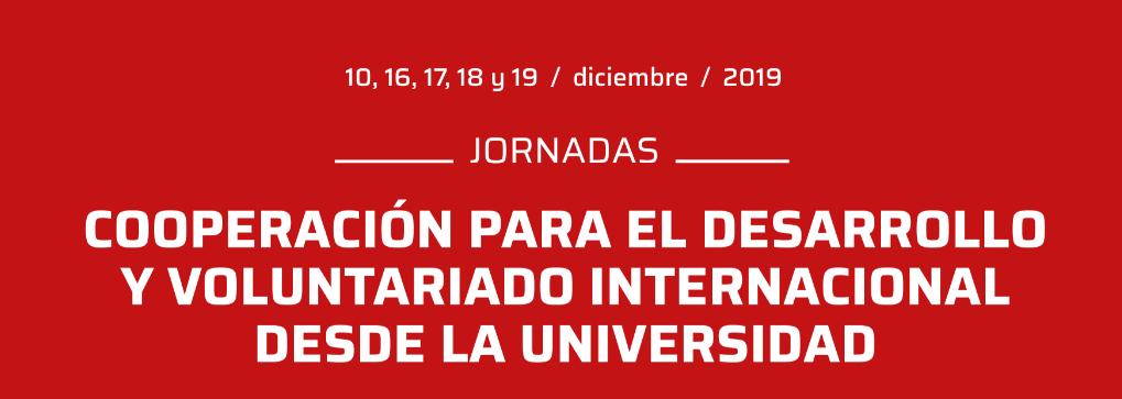 Farmamundi participa en las jornadas de la Universidad de Jaén dedicadas a la cooperación y voluntariado internacional