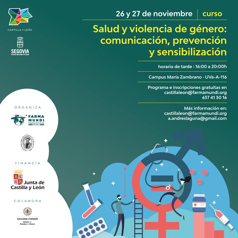 Farmamundi organiza el curso Salud y violencia de género: comunicación, prevención y sensibilización en Segovia