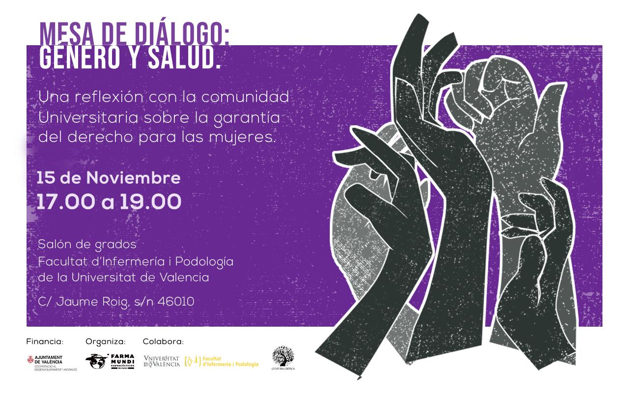 Farmamundi organiza una mesa de diálogo sobre salud y género en Valencia
