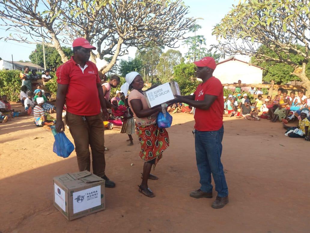 Farmamundi realiza intervenciones de acción humanitaria en Mozambique en 2019 dentor del convenio de emergencias conjunto con la Xunta de Galicia