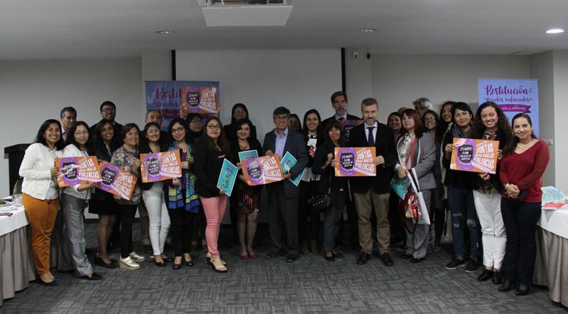Alianzas en Perú para reducir el embarazo adolescente y por una vida libre de violencia