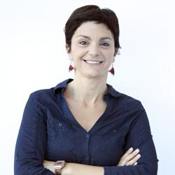 Tania Montesinos, responsable del área de Acción Humanitaria y Emergencias