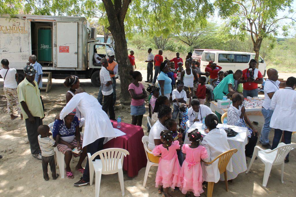 diez años de atención sanitaria en haití
