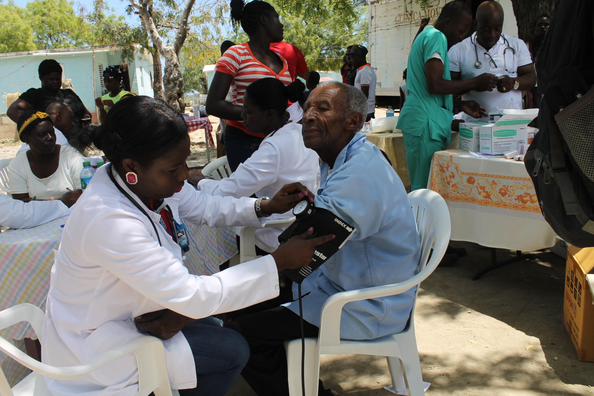 Haití, más de una década de atención sanitaria y de prevención del riesgo ante desastres