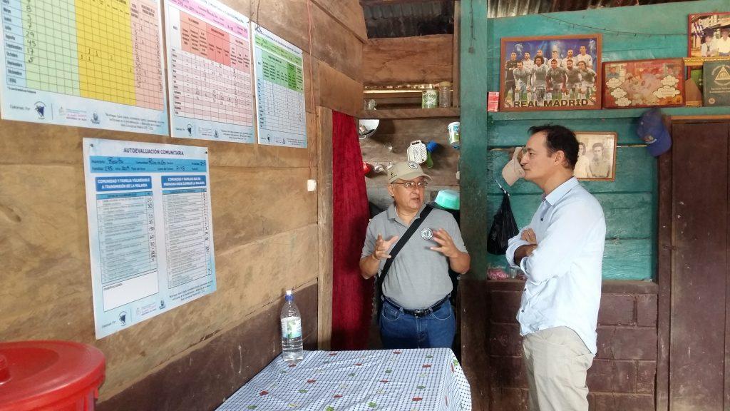 Javier zulueta de Fundación Probitas Nicaragua