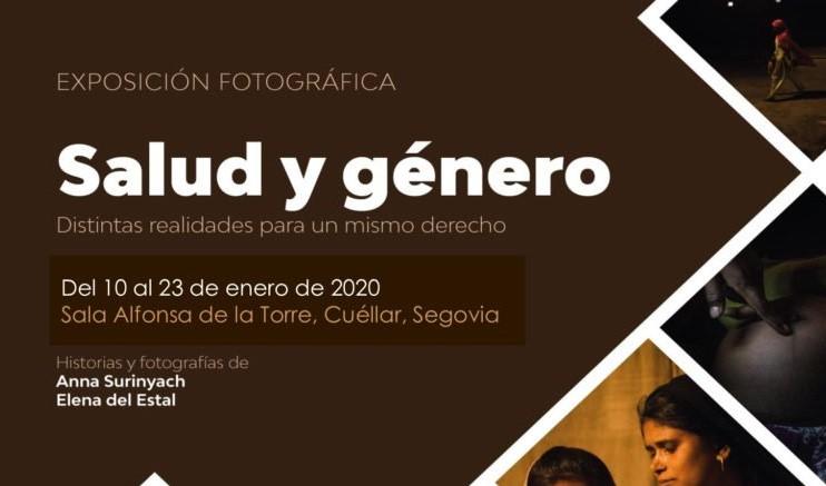 Farmamundi presenta la exposición fotoperiodística Salud y género en Cuéllar, Segovia