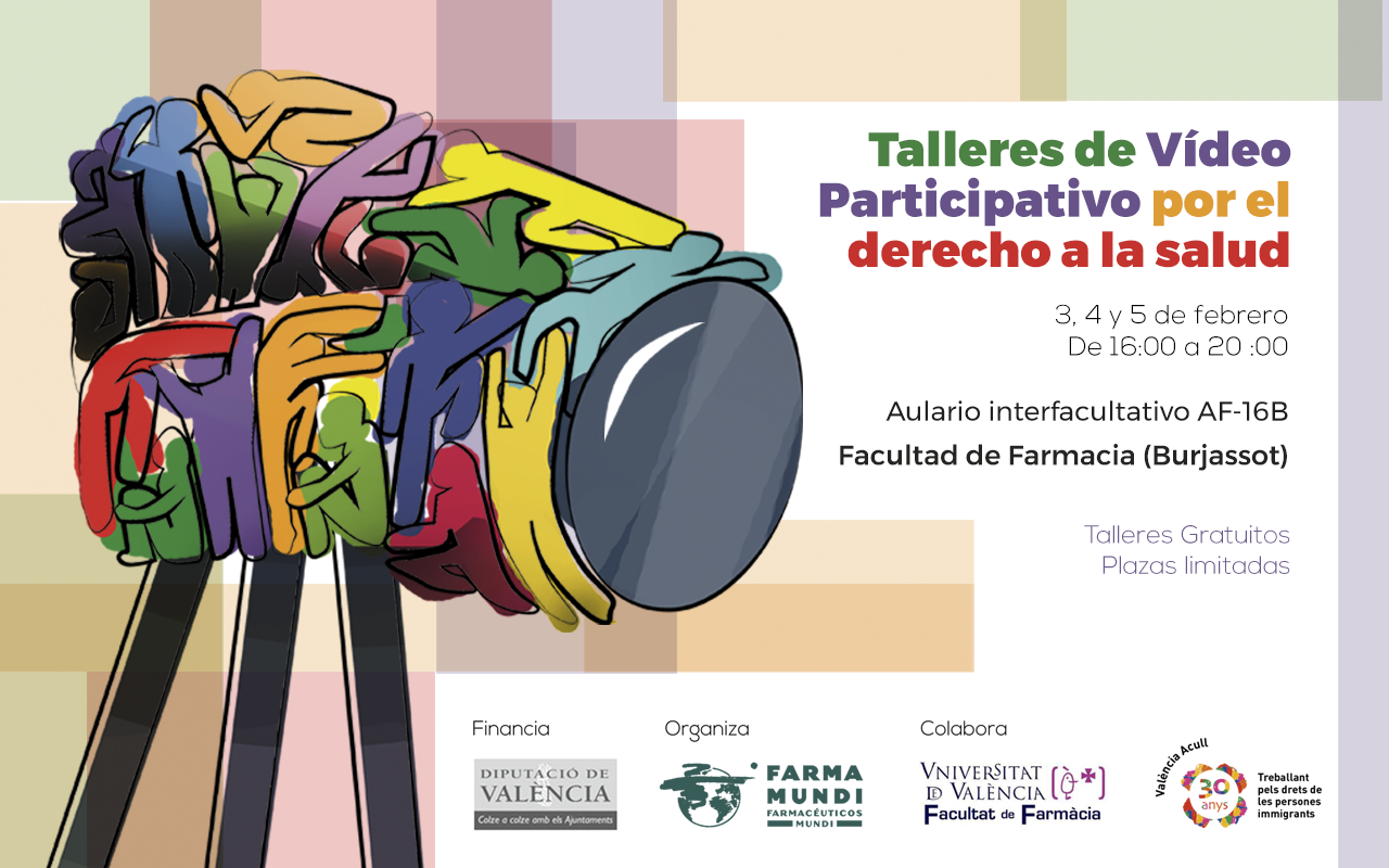 Farmamundi realiza un taller de vídeo participativo en la Facultad de Farmacia, en Valencia