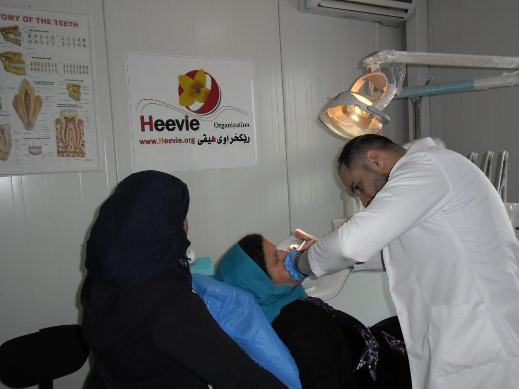 Atención sanitaria en Be4rsivy Irak