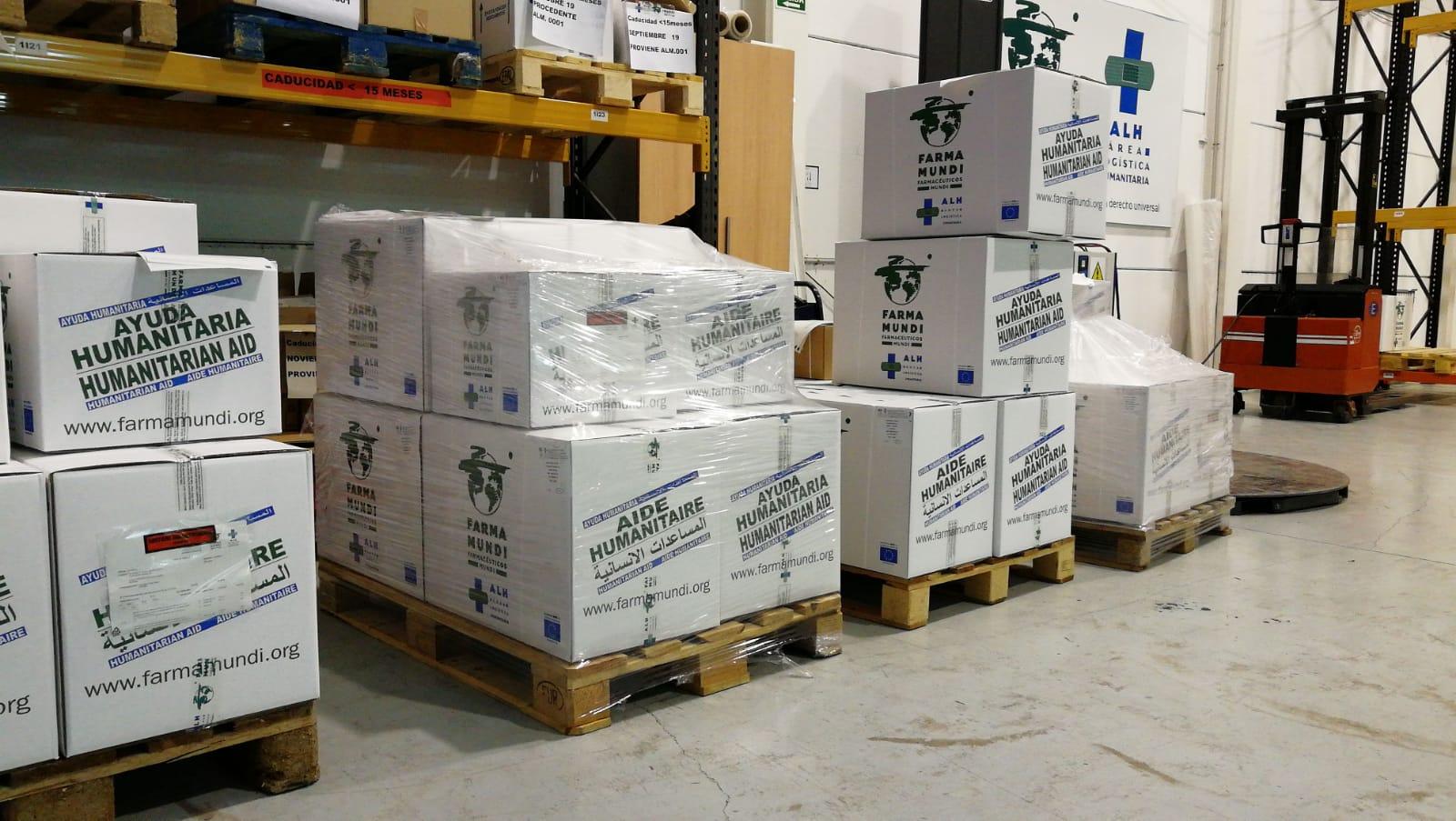 COVID-19 I Suministramos nueve toneladas de EPI a diversos actores humanitarios en España