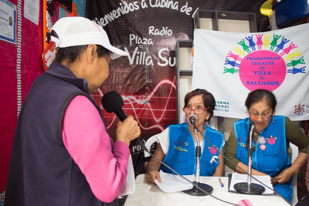 La radio alza su voz en Perú para sensibilizar contra el COVID-19