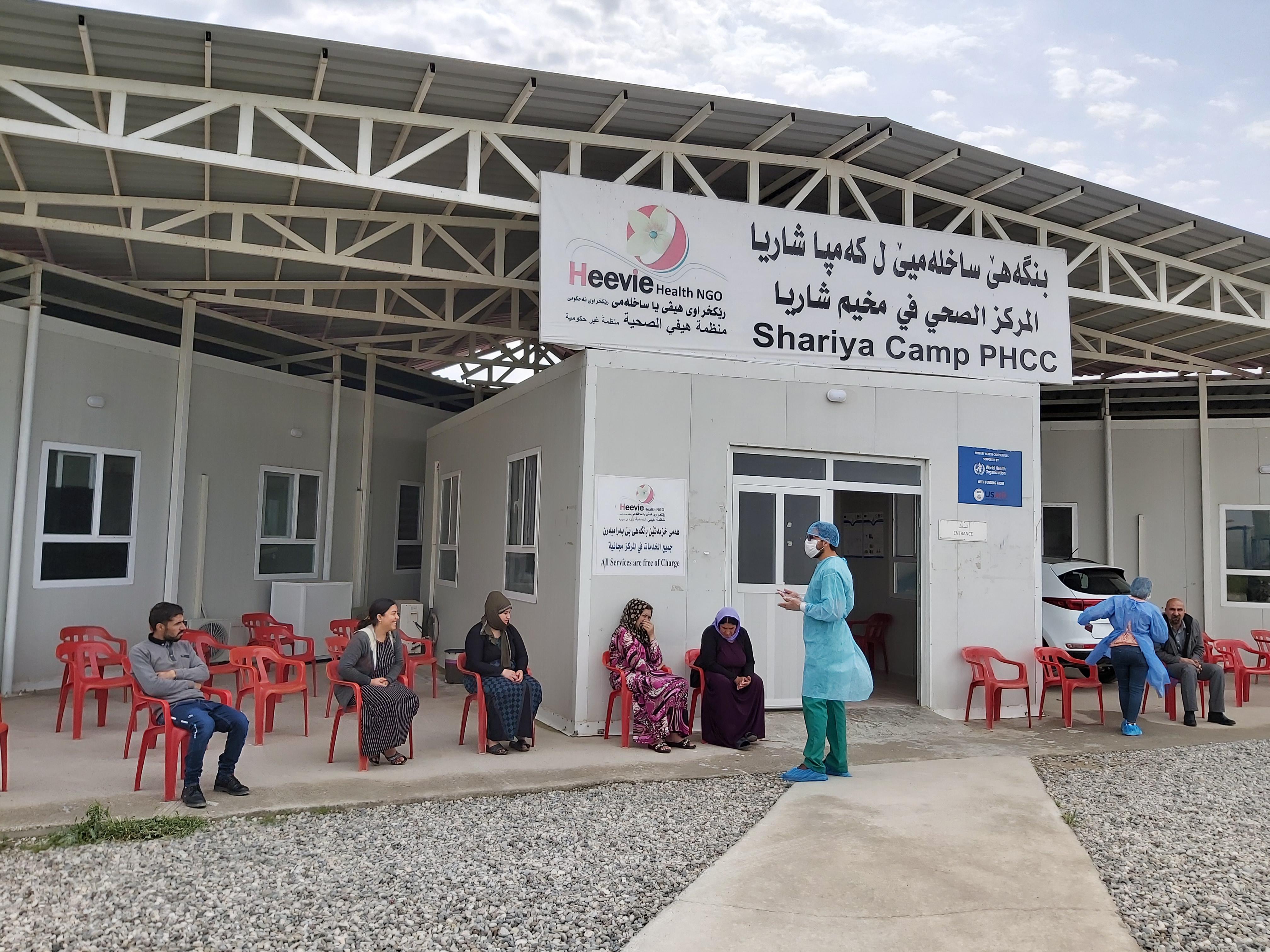 Fondo de Emergencias I Kits de higiene y EPI para la prevención de población refugiada frente al COVID-19