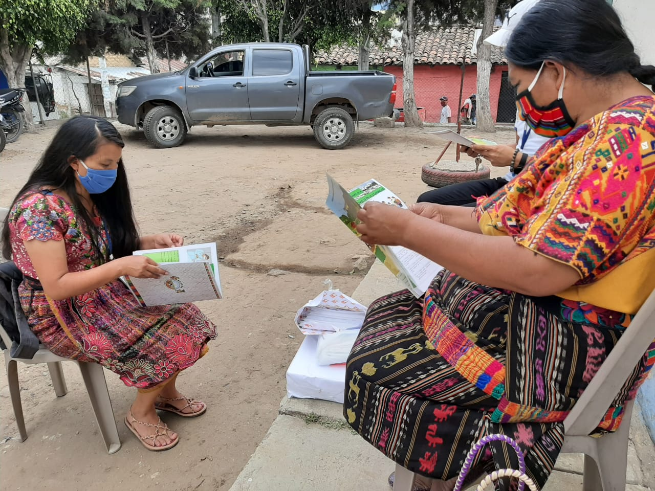 Acciones de prevención Covid19 en comunidades de Guatemala