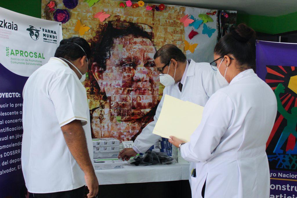 Donacion equipamiento médico para el Salvador