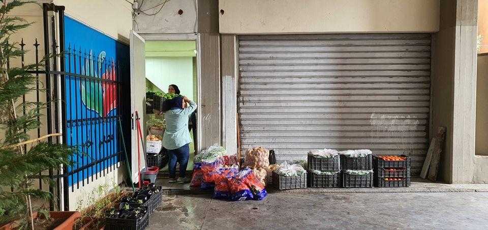Repartimos kits de alimentos e higiene a la población más vulnerable de Beirut