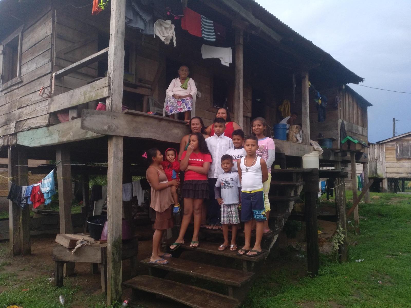 nicaragua grabación del video Mairin nani
