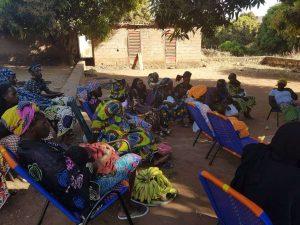 formación de mujeres en Mali sobre salud sexual