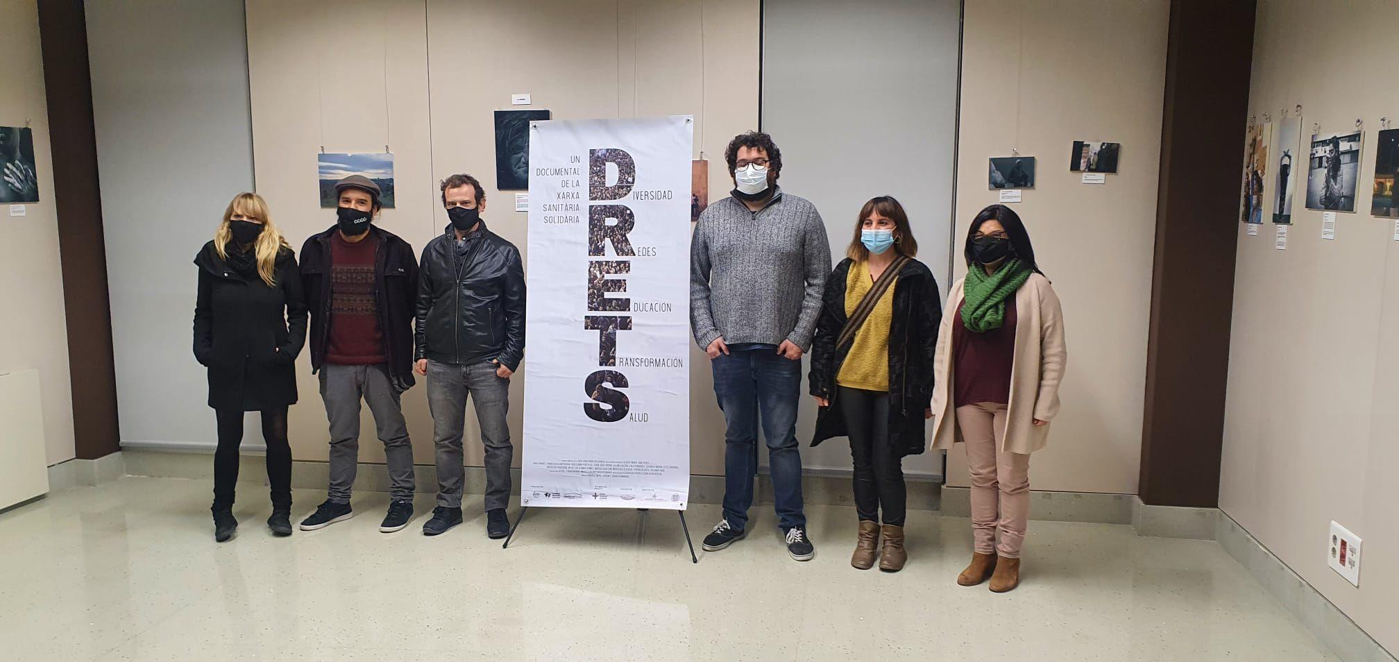 Las Redes Sanitarias Solidarias estrenamos el documental D.R.E.T.S sobre el derecho a la salud