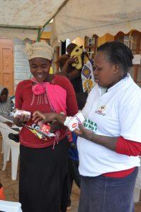 Eunice en Kenia