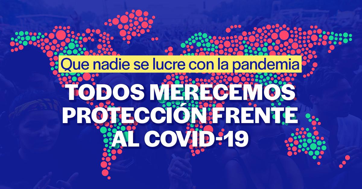 Objetivo: Liberar a los medicamentos y vacunas frente al Covid-19 de las patentes