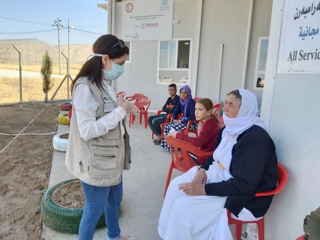 Formación sobre prevención Irak