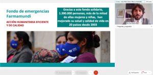 joan peris en el webinar del fahe