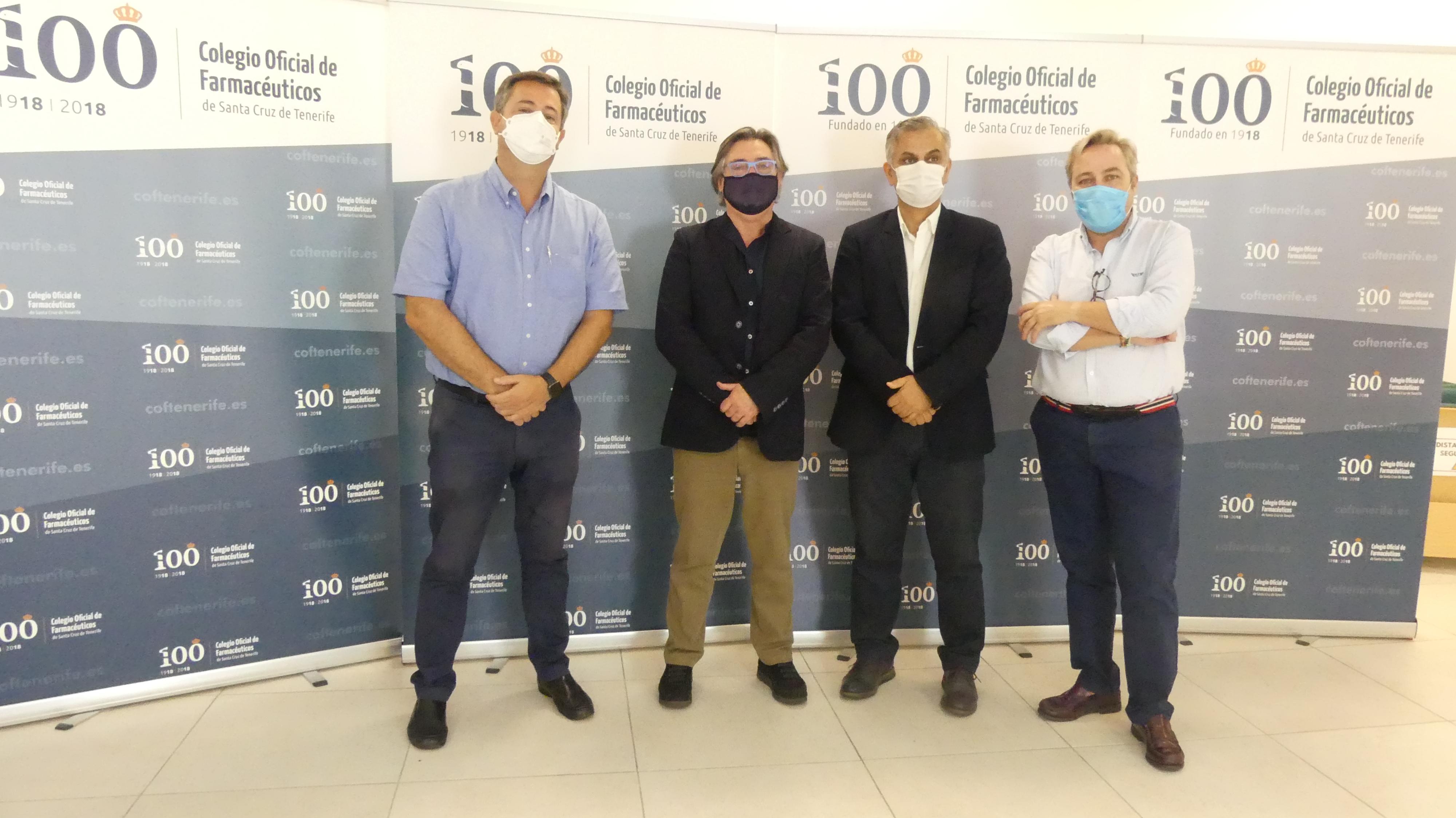 El Colegio de Farmacéuticos de Santa Cruz de Tenerife se suma al Fondo de Emergencias