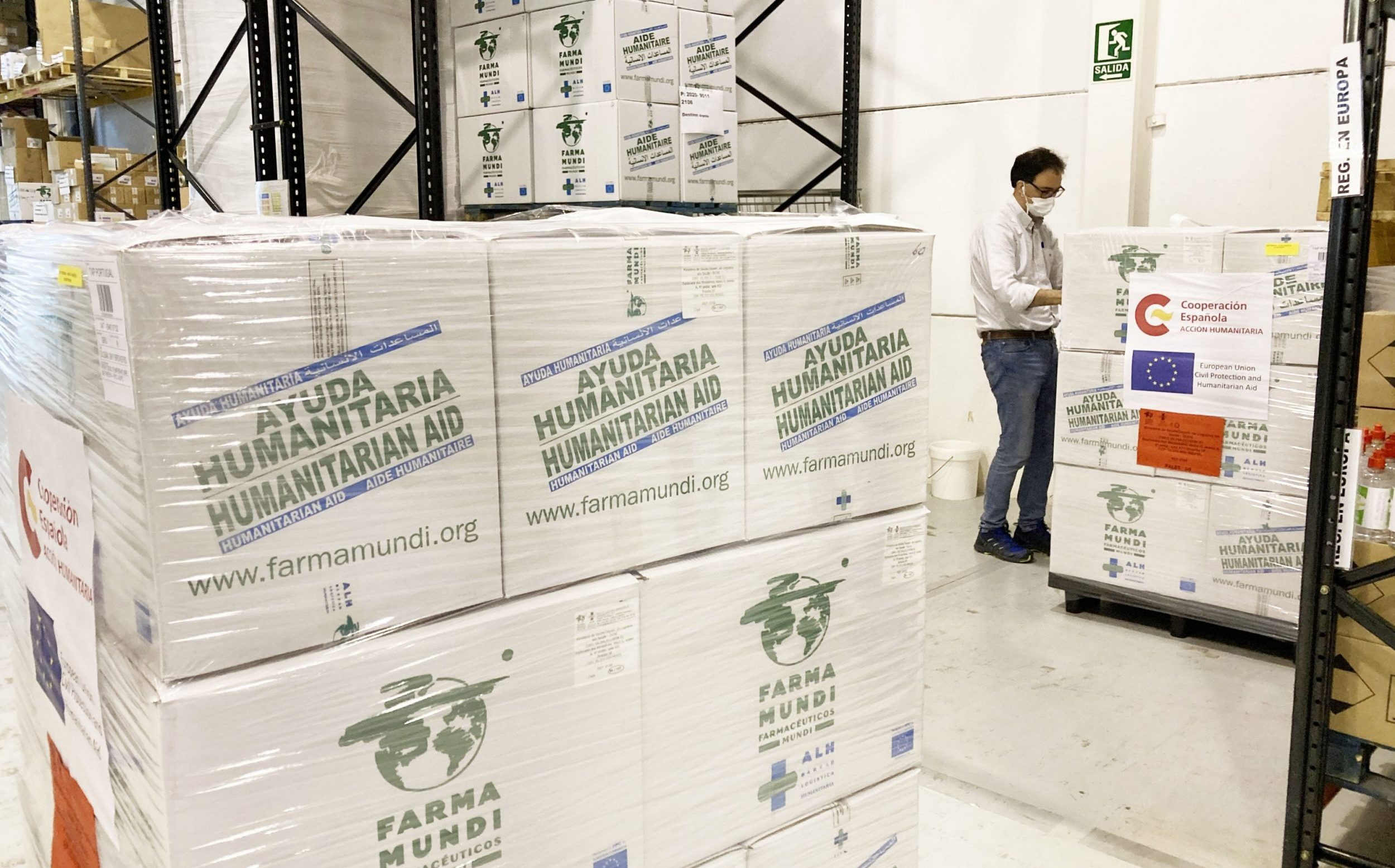 La cooperación española confía a Farmamundi los suministros de emergencias para frenar el COVID-19