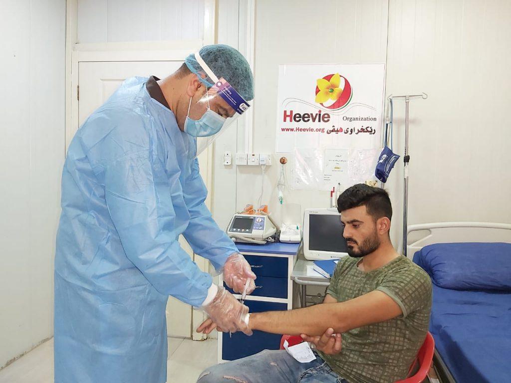 irak vacunación