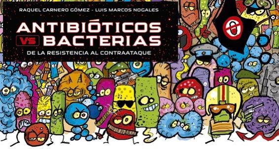 Portada Libro antobióticos Raquel Carnero y Luis Marcos