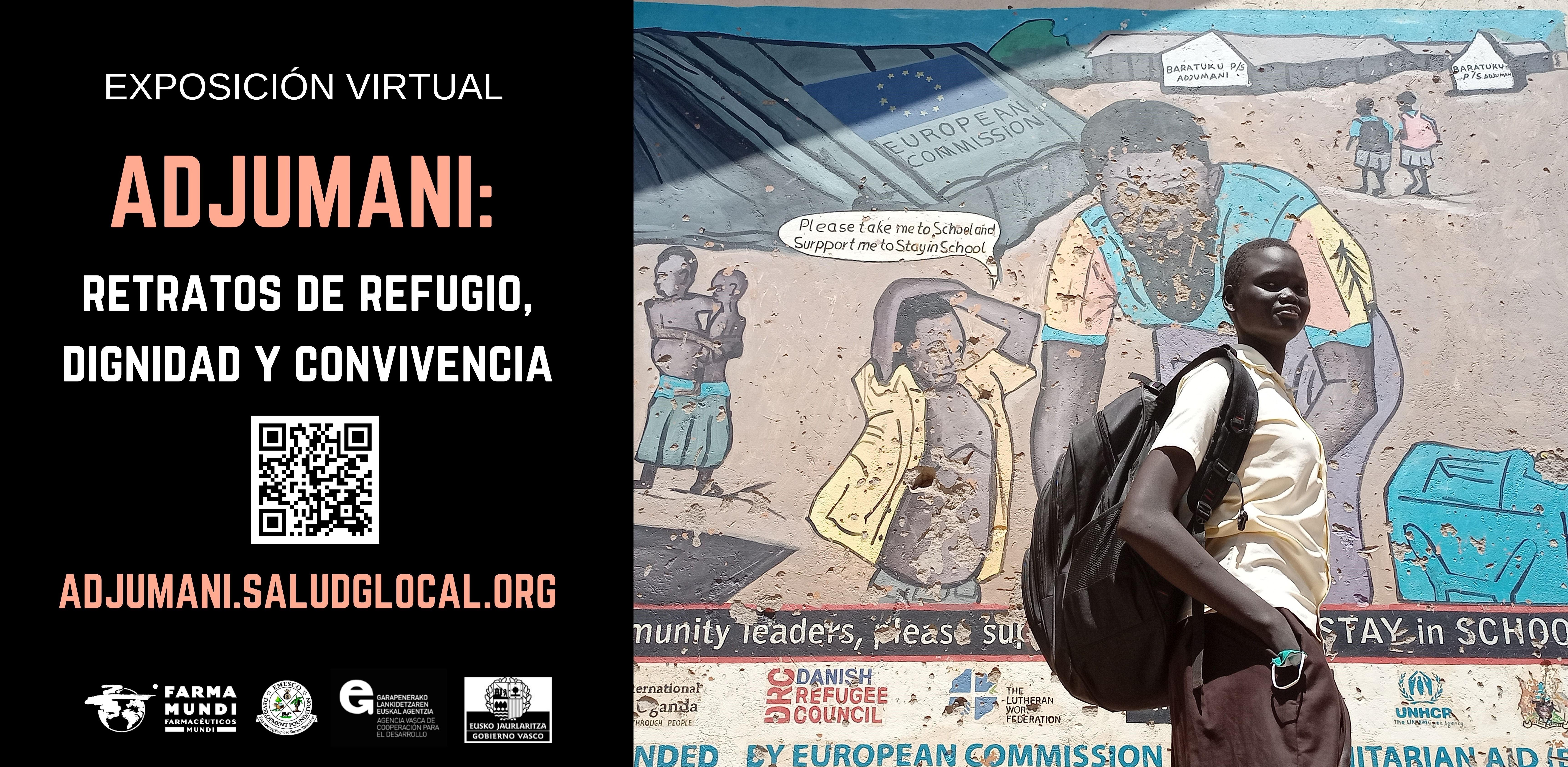 Lanzamos la exposición virtual 'Adjumani: retratos de refugio, dignidad y convivencia'