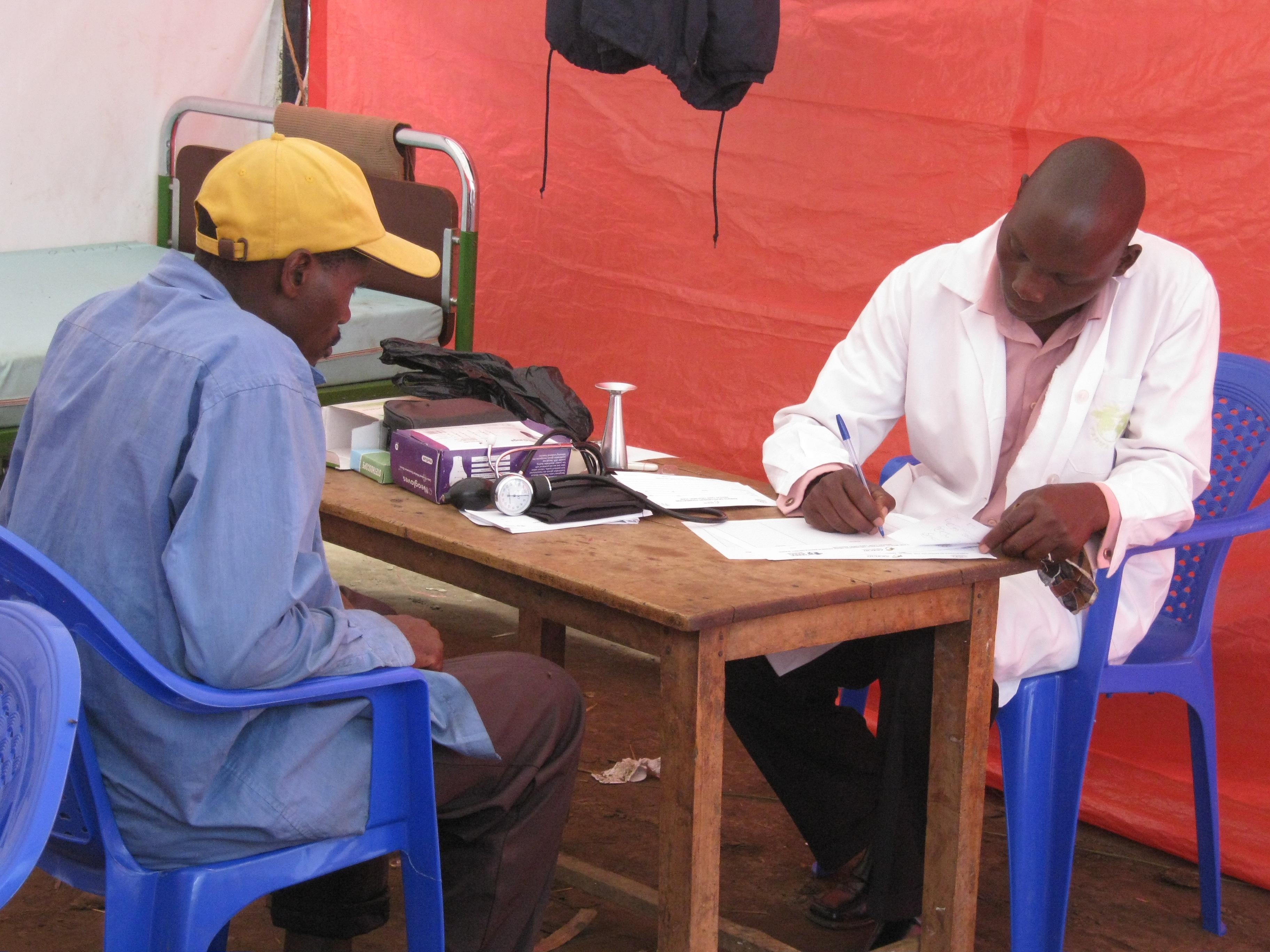 atención sanitaria uganda