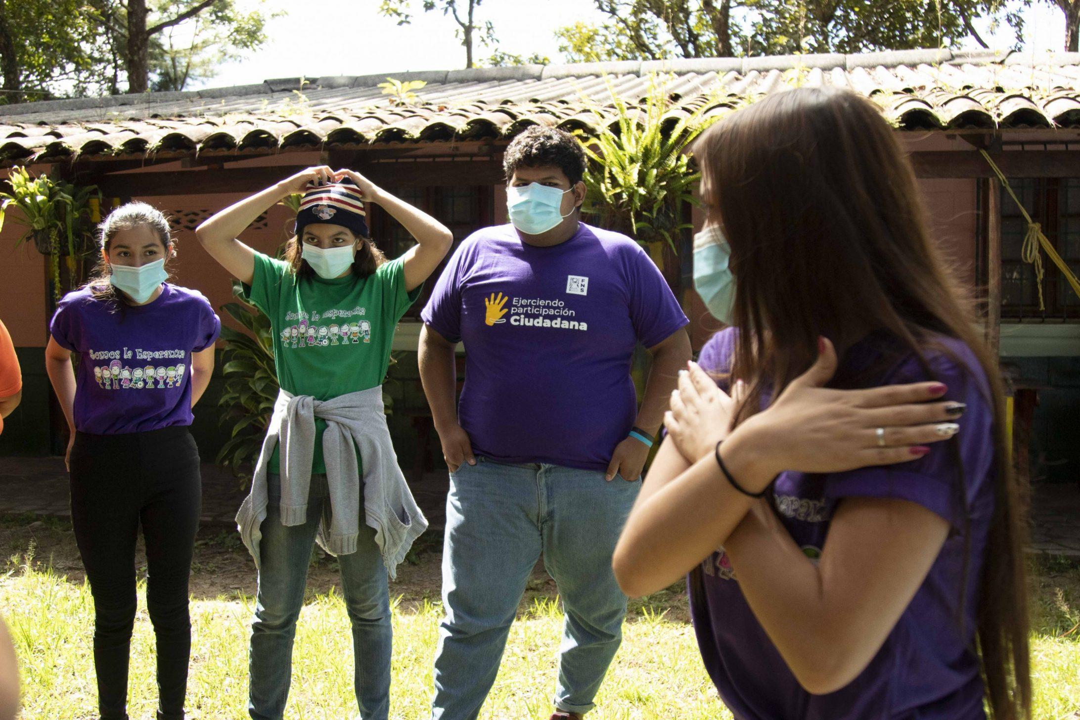 Los jóvenes protagonizan una red local de atención a las víctimas de violencia en San Salvador