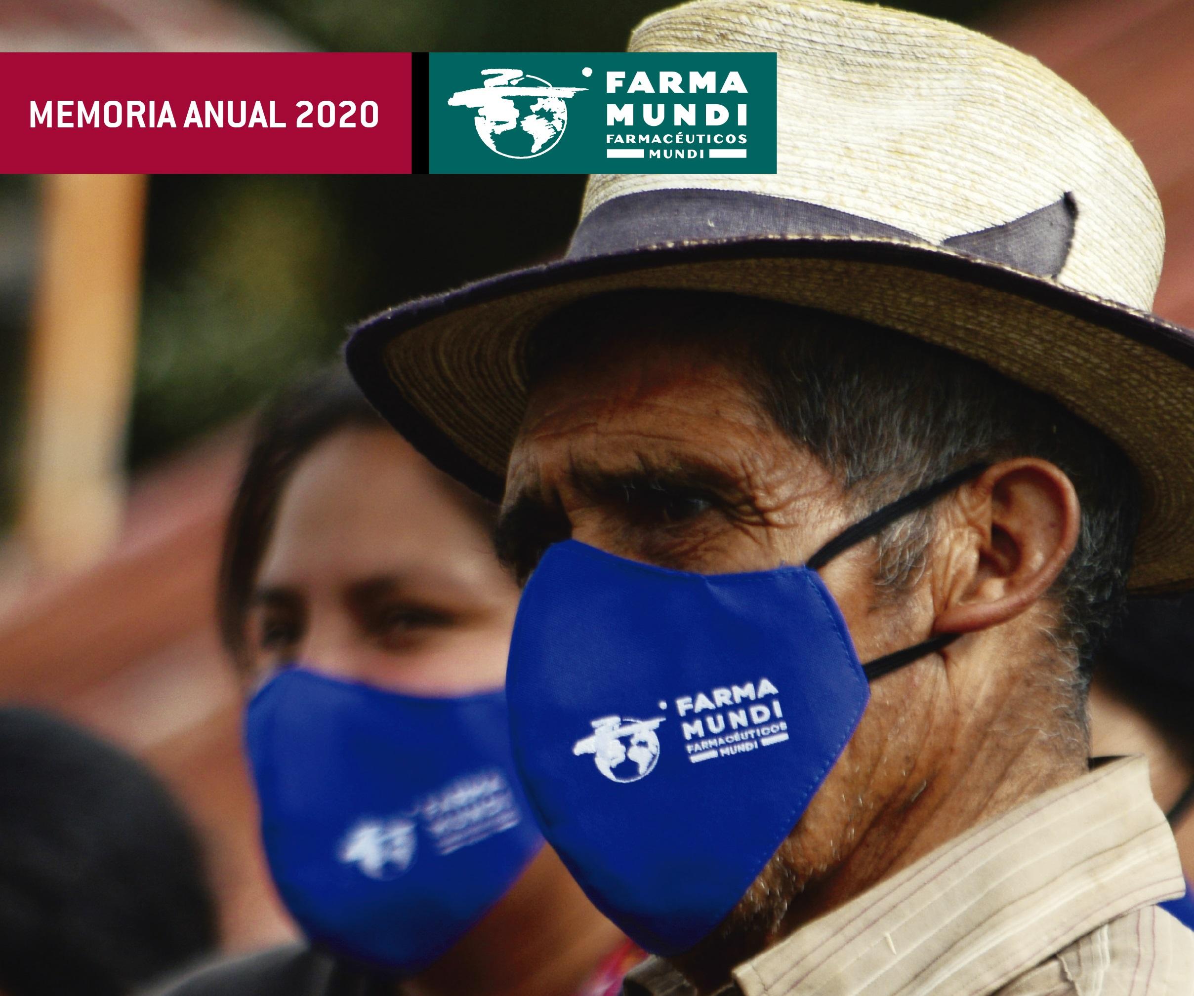 MEMORIA 2020 | Distribuimos más de 90 toneladas de medicamentos y EPI para prevenir y frenar el COVID-19