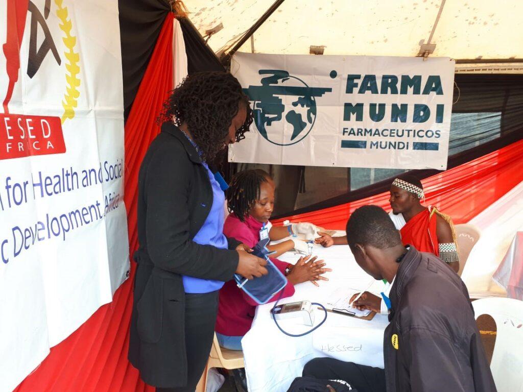 Atención sanitaria menores Kenia