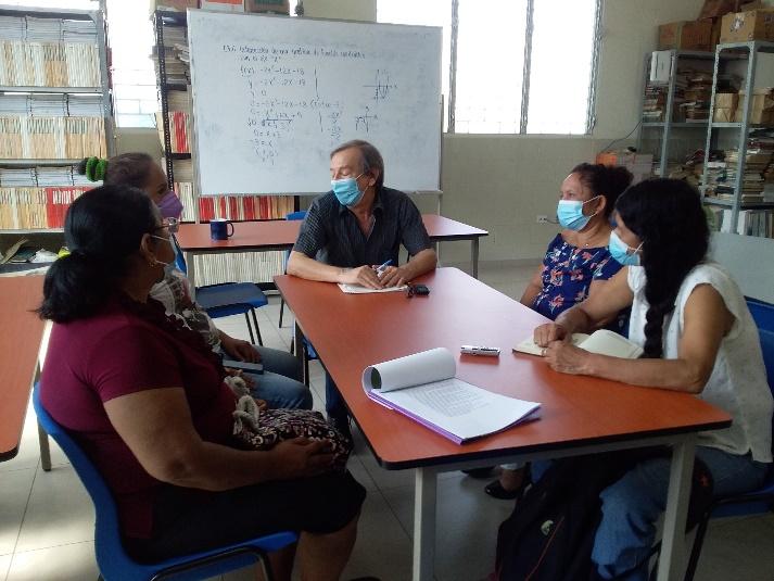 Entrevistas con familiares El Salvador